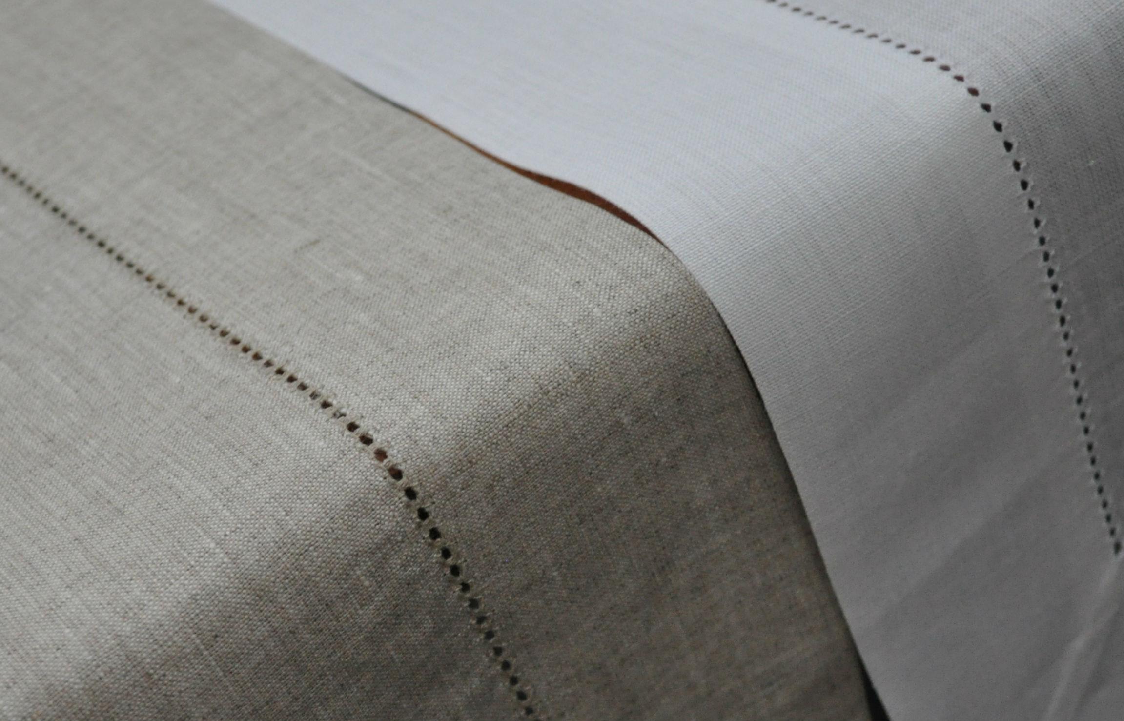 White Linen Table Runner Furniture